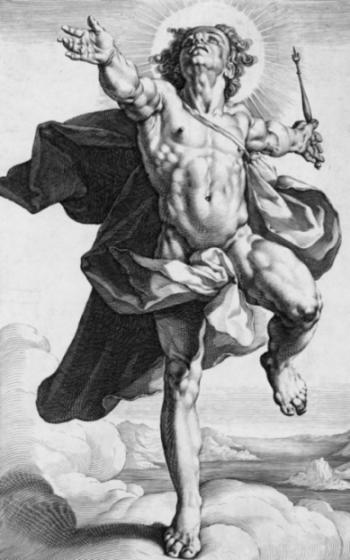 Image of Graeco-Roman god of light Apollo