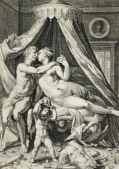 Image of Venus, Mars, and Cupid
